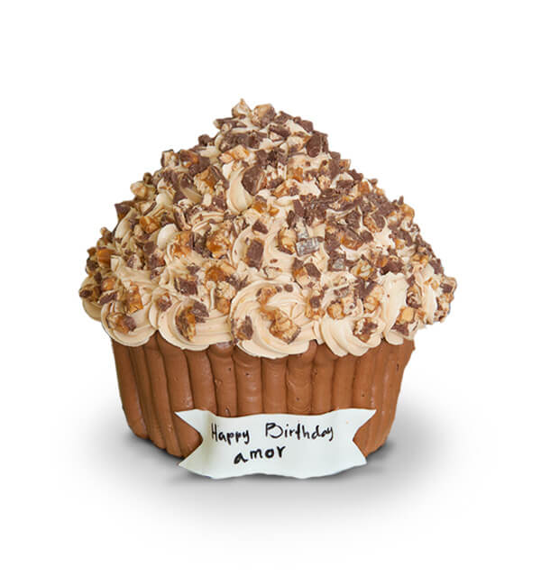 Snickers Big cupcake - BC41