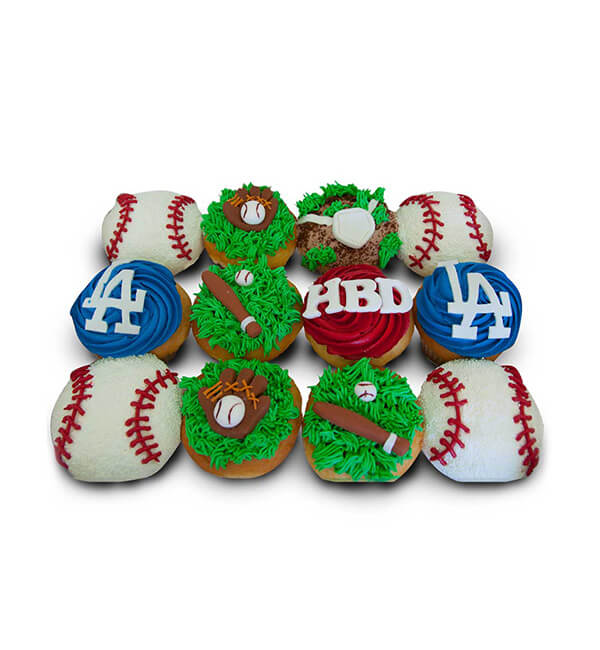 Base Ball Cupcakes PP1